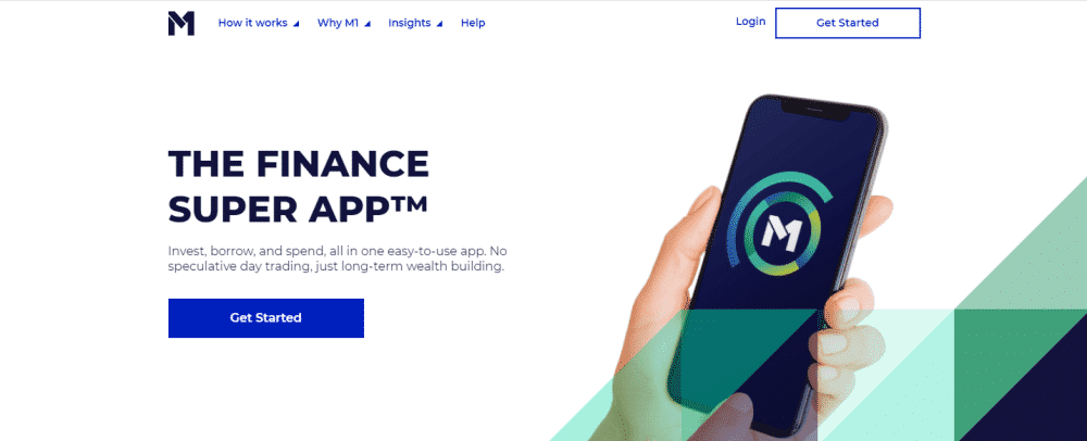 M1 Finance Website