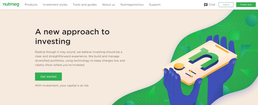 Nutmeg website