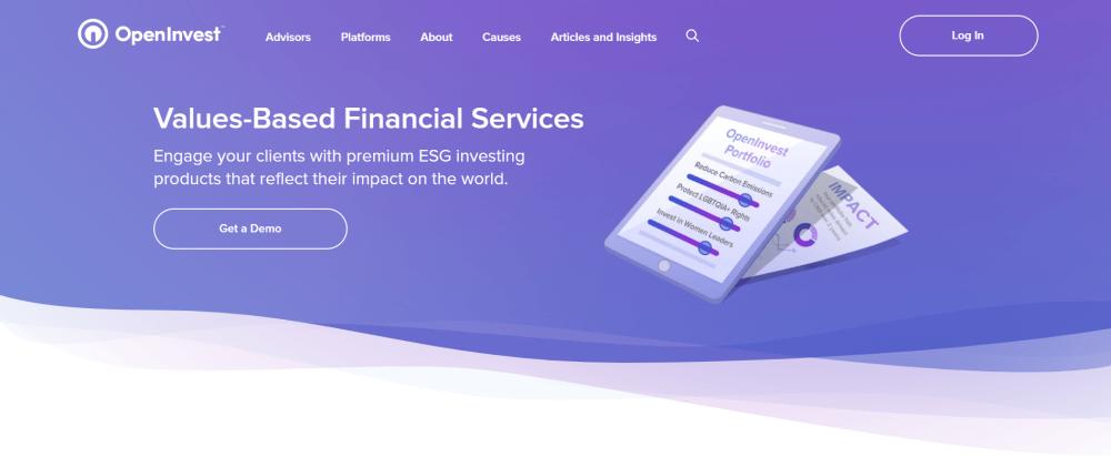 OpenInvest website