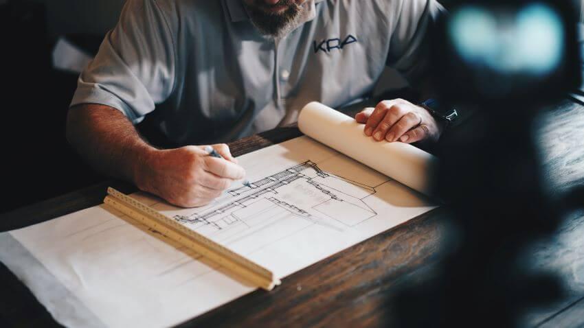 Architect Working