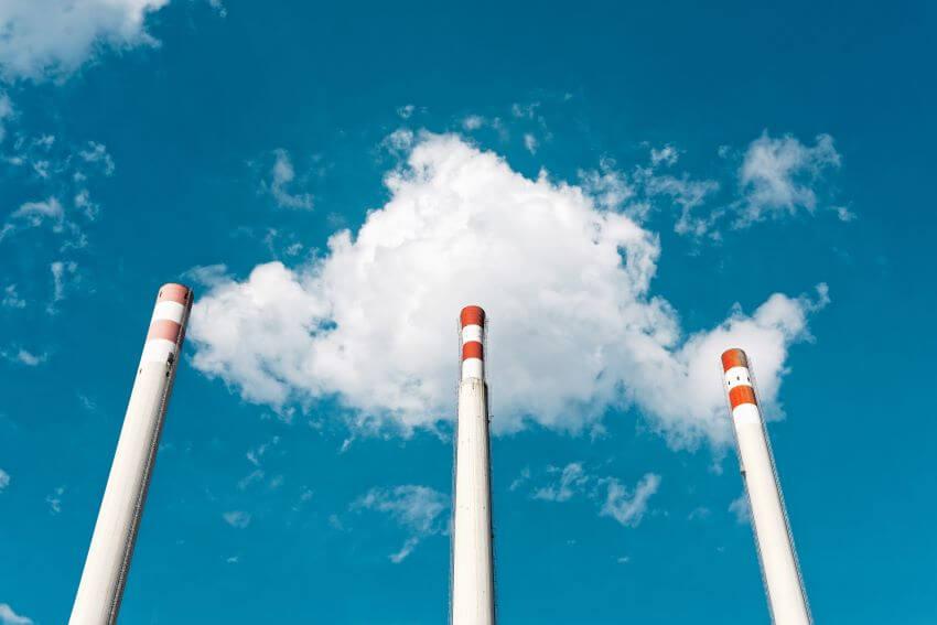 Energy Plant Skyline