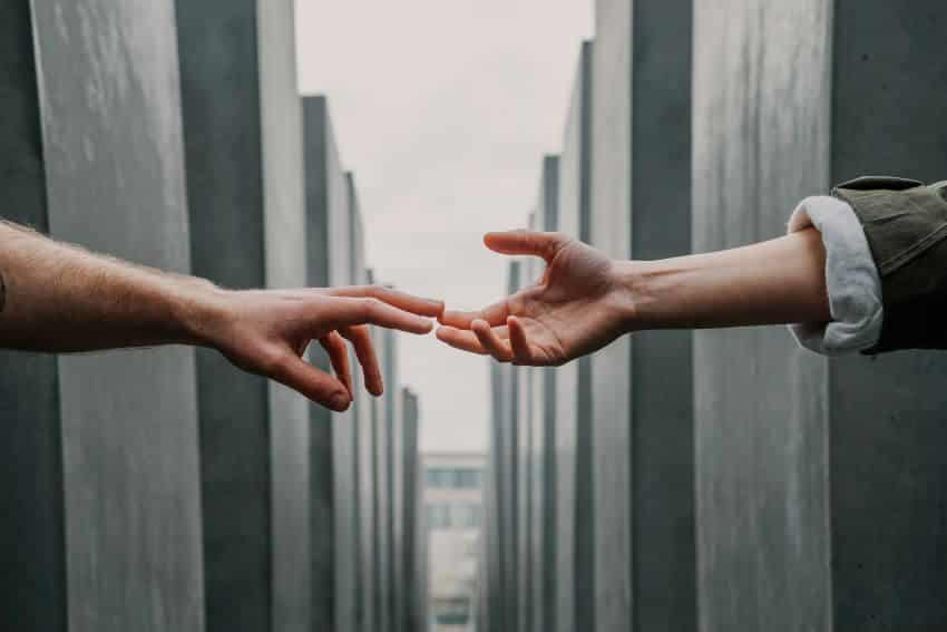 Offering Hand to Help