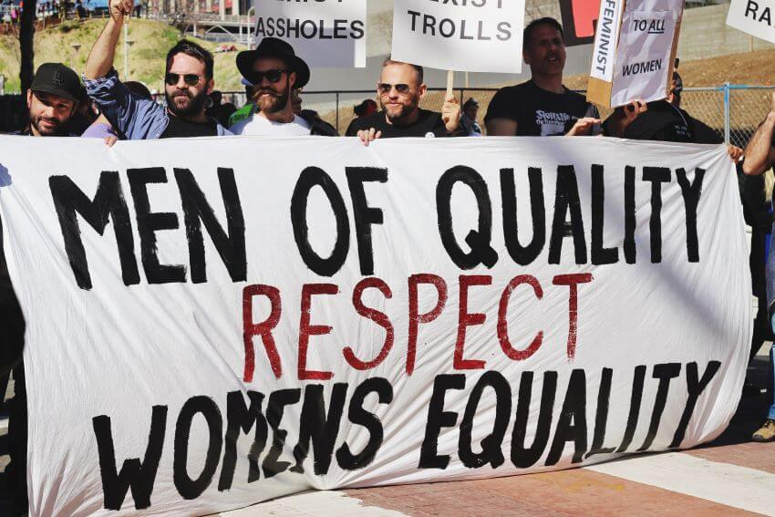 Woman Equality Slogan Campaign